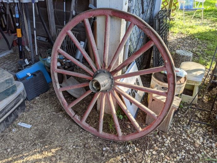 HAVE YOU LOST A WAGON WHEEL