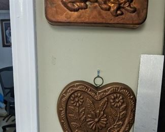 Old copper molds