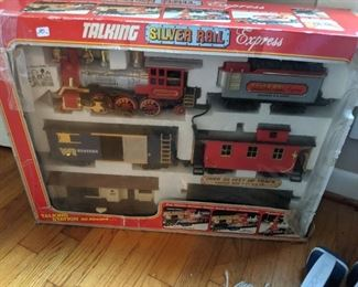 one of two  train sets