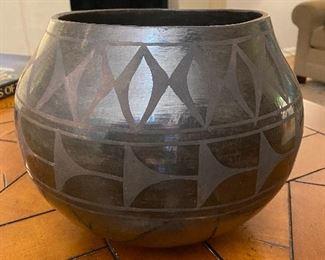 Closeup of pot