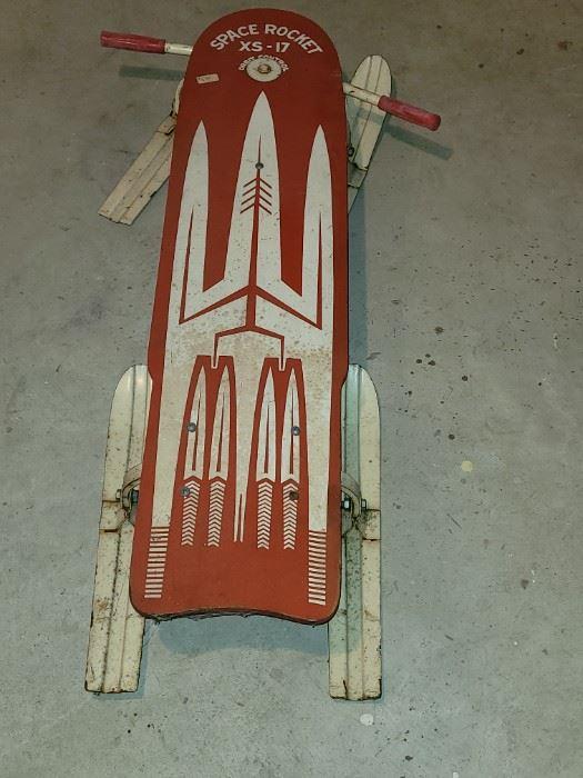 Vintage Space Rocket XS-17