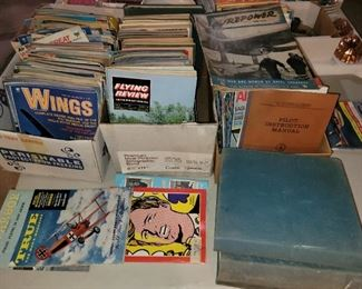 Wings, Flying review and other airplane enthusiasts magazines