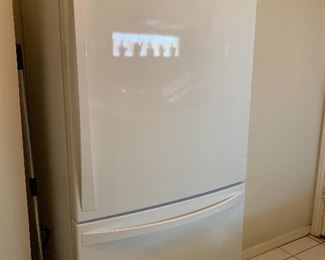 Pre-sale is available on this item.  Kenmore Elite Very Clean and great Condition. solid price of $350, YOu must move and Load  Bottom-Freezer Drawer and Single Frig Door.  Serious inquiries only contact Yvonne@tenderstransitions.com