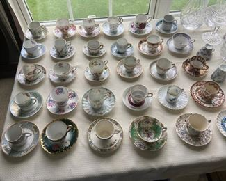 Small Tea Cup Collection