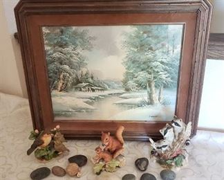 Wildlife Home Decor and Lendi Oil Painting