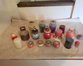 19 NEW Candles