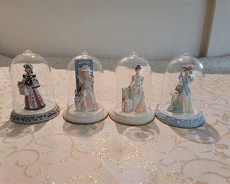 4 Mrs Albee Miniatures ~ Avon