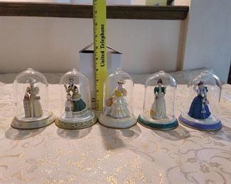 5 Mrs Albees Avon Collectibles