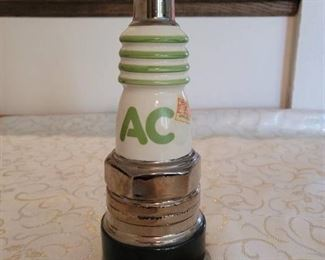 Vintage AC Sparkplug Decanter