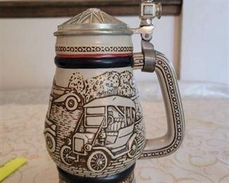 Avon Car Classics Ceramic Stein