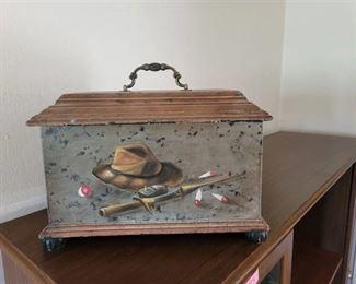 Fishing Themed Storage Box