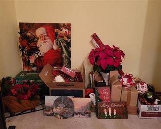Christmas Decor~ Contents of Closet