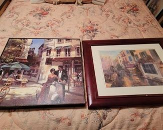 2 Framed Wall Pictures