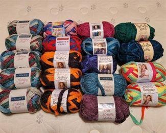 19 New Rolls of Yarn