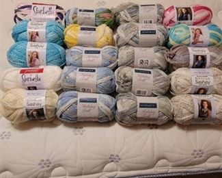 20 New Rolls of Yarn