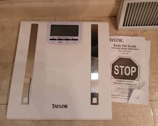 Taylor Body Fat Scale - no batteries