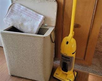 Eureka Vacuum~The Boss, Sleeping Bag and Vintage Hamper