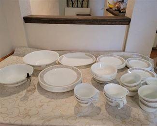 59pcs. Correlle Dishes