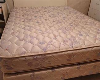 Serta Perfect Sleep Queen Size Bed with Headboard