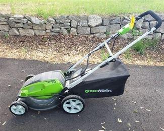 Greenworks 21 Inch 13 Amp Corded Lawn Mower Model 25112