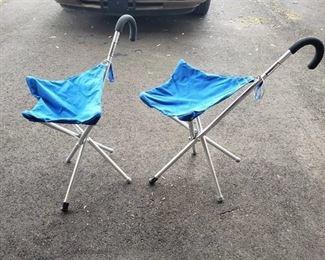 (2) Jiffy Seats