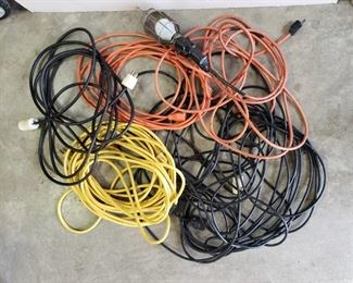 Extension Cords and Drop Light