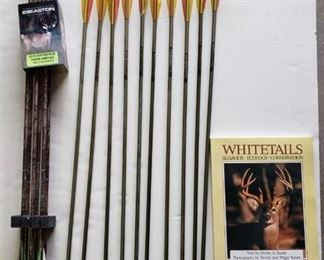 Easton Arrows ~ 2117 Gamegetter ~ 2114 Advantage Timber Arrows with Whitetails book