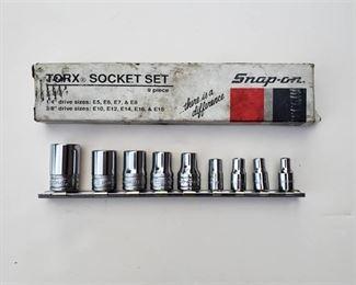 Snap on Torx Socket Set 9 pc