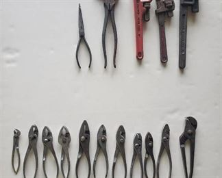 Pipe Wrenches and Pliers