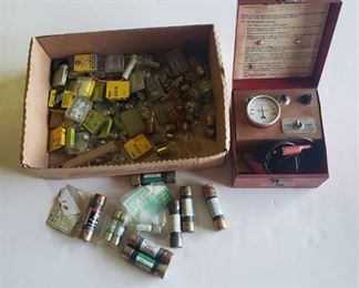 Vintage Burroughs Electrotest and Fuses