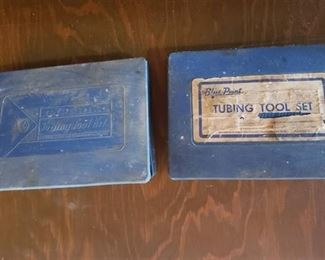 Blue Point Tubing Tool Set (missing 1 pc) and partial other kit