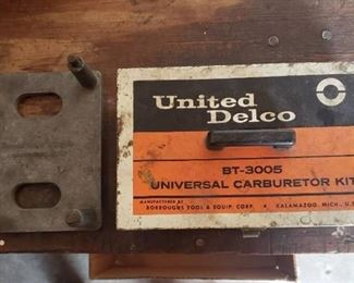 United Delco BT-3005 Carburetor Kit and Carb Fixture