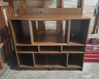 Wood Entertainment/Stereo Cabinet ~ 48 in. x 17 in. x 45 in.