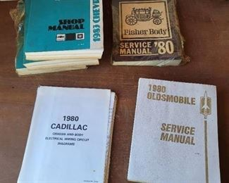 1980 and 1983 Vehicle Service Manuals