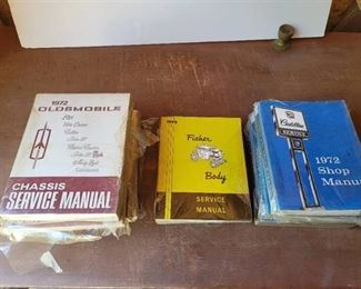 1972 Oldsmobile, Fisher and Cadillac Service Manuals