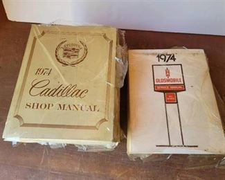 1974 Cadillac and Oldsmobile Service Manuals