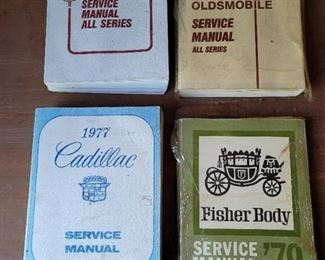1977, 1978 and 1979 Cadillac and Oldsmobile Service Manuals