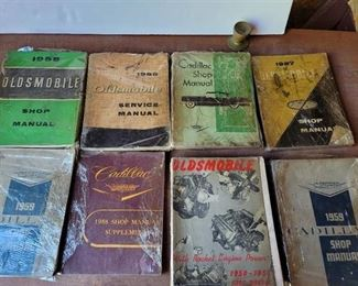 1950's Cadillac and Oldsmobile Service Manuals