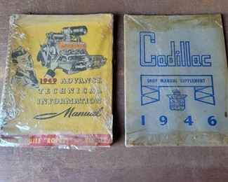 1940's Cadillac and Oldsmobile Service Manuals