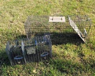 2 Critter Traps