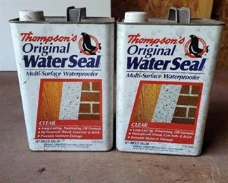 2 Full Cans Thompsons Water Seal