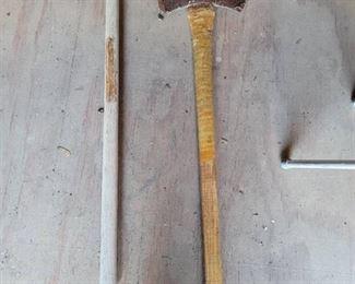 Sledge Hammer and Axe