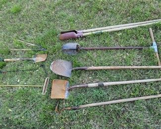 Long Handled Yard Tools