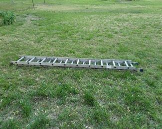 10ft Aluminum Extension Ladder