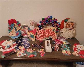 Vintage Christmas Decor and more