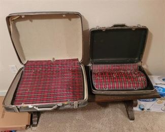 Vintage Hard Luggage~2 pcs.