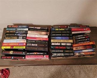 Books by Popular Authors~ Mostly Hardback