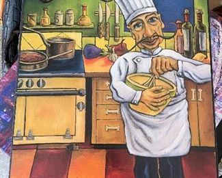 Fun chef kitchen picture