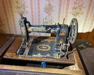 Vintage New Wilson Sewing Machine