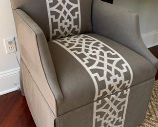 15. Pair of Edward Ferrell Arm Chairs